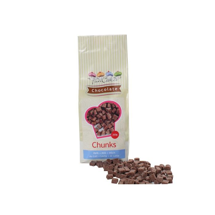 Trozos de chocolate con leche - Funcakes