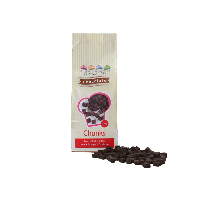 Trozos de chocolate negro - Funcakes