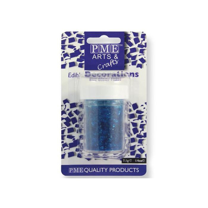 Virutas de purpurina azul - PME