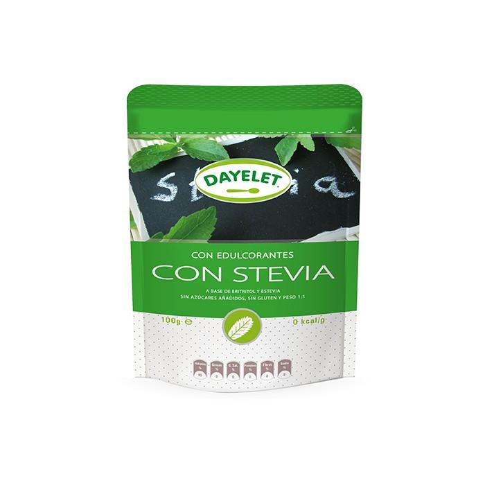Edulcorantes con Stevia 100 grs. - Dayelet