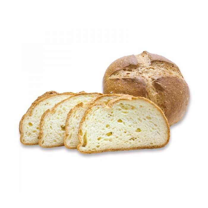 Pan redondo sin gluten 600 grs - Forn Ricardera
