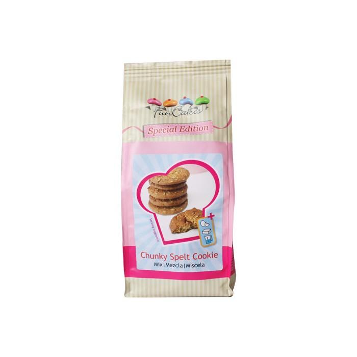 Preparado de galletas rústicas de espelta - Funcakes