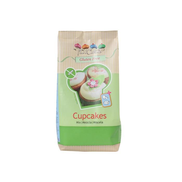 Mezcla para Cupcakes sin gluten - Funcakes