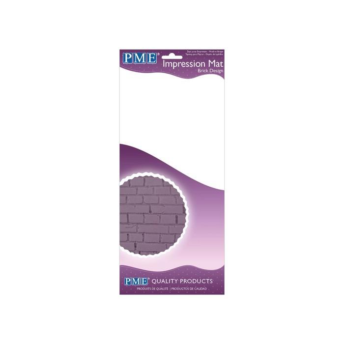 Tapete texturizador de ladrillos PME