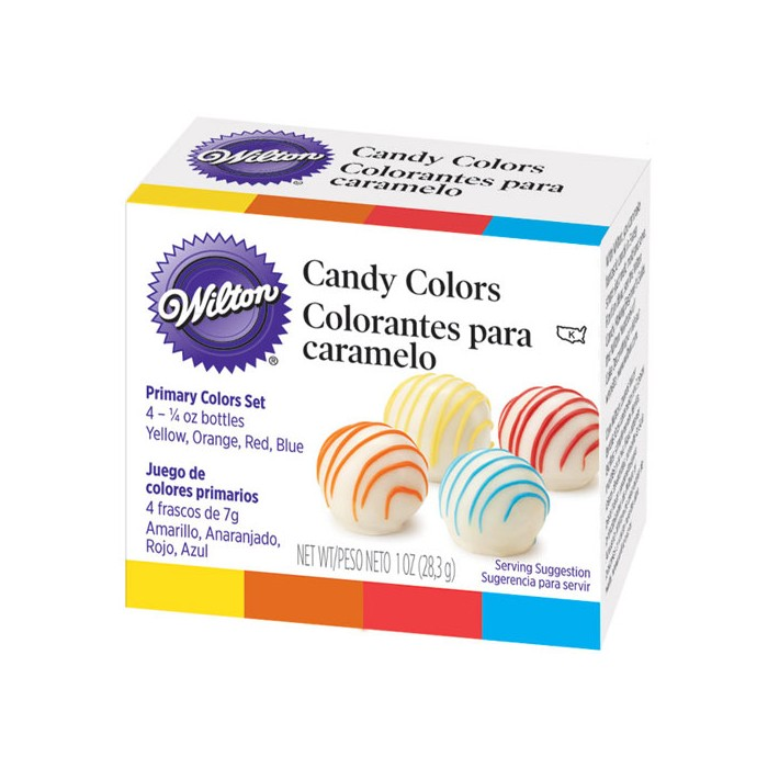 Kit de colorantes para chocolate y caramelo - Wilton