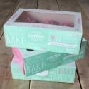 Set 3 cajas decoradas para 6 cupcakes - Funcakes