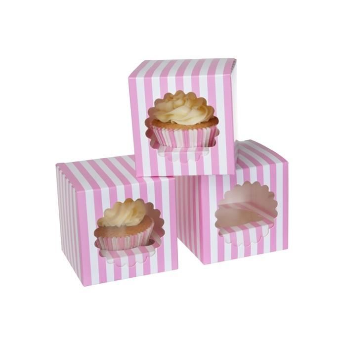 Set 3 cajas para cupcake diseño Circus