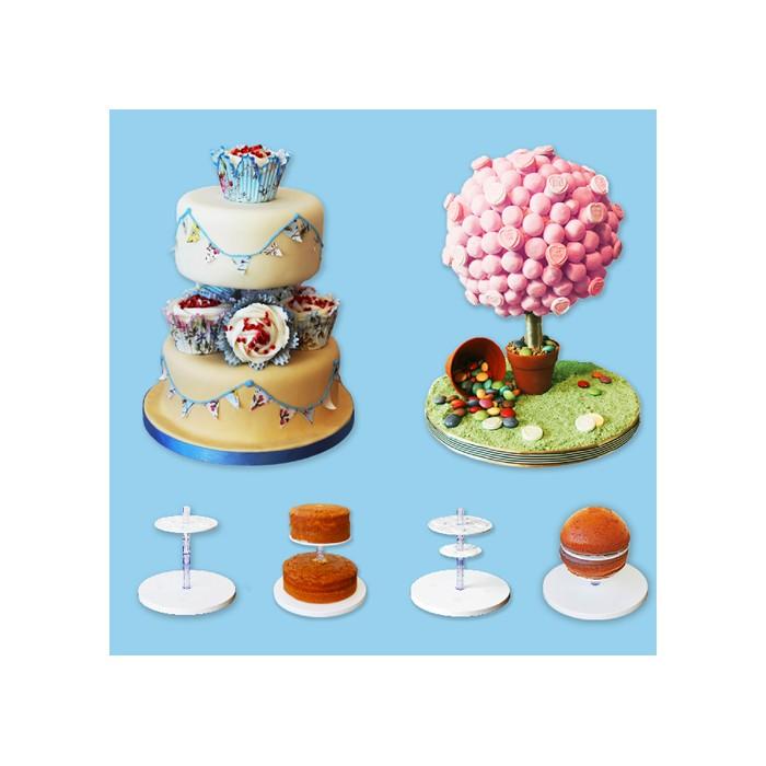 CakeFrame para tartas de pisos y esferas