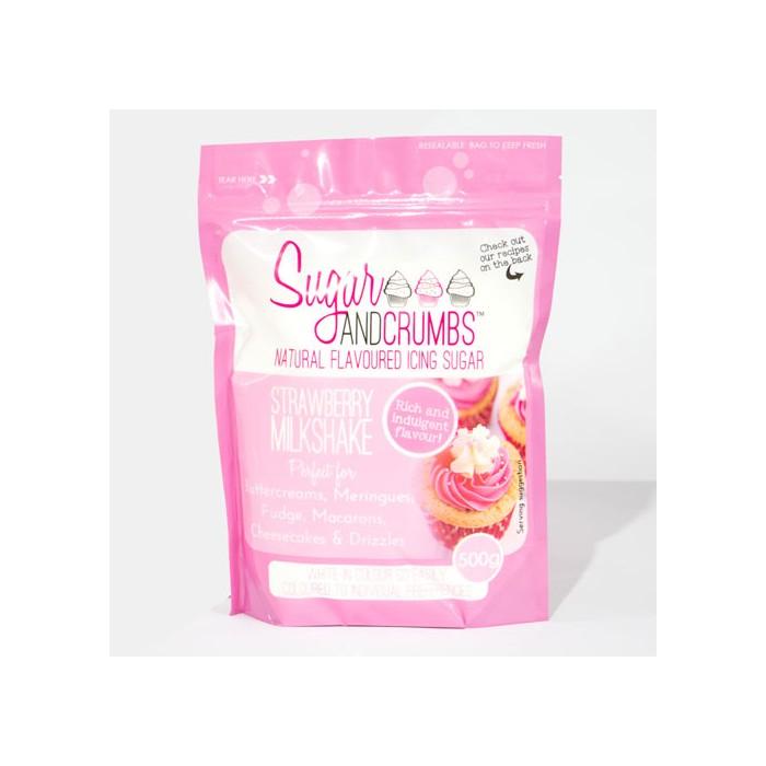 Icing Sugar sabor fresa 500 grs. - Sugar and Crumbs