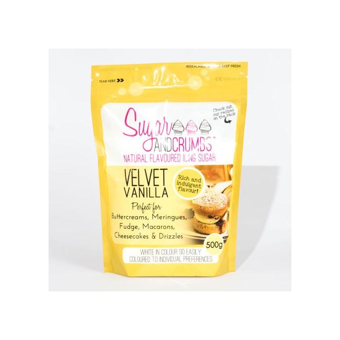 Icing sugar sabor vainilla 500 grs. - Sugar and Crumbs