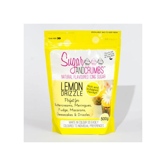 Icing sugar sabor limón 500 grs. - Sugar and Crumbs