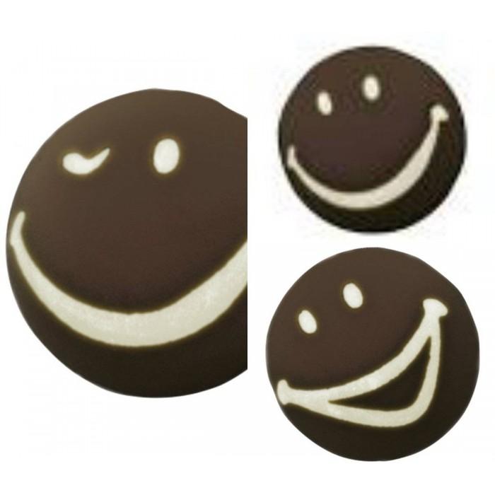 Sonrisas de chocolate Dekora