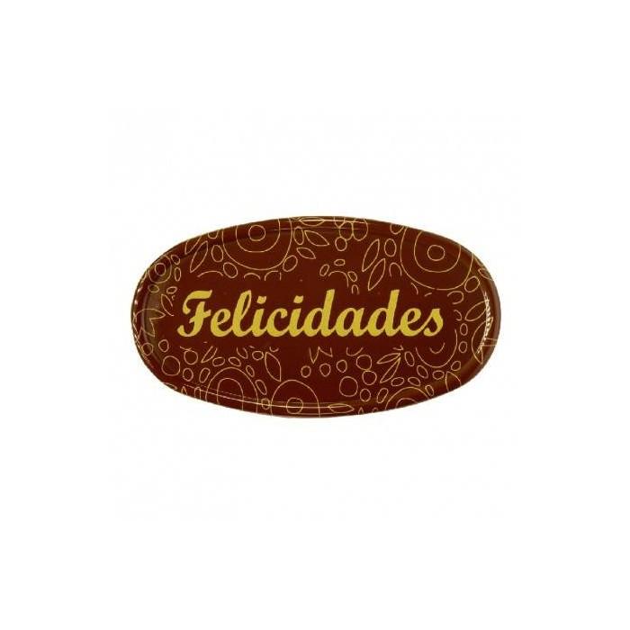 """""""Felicidades"""" de chocolate Dekora"""