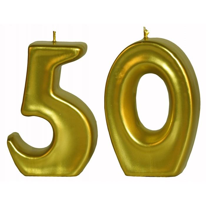 Velas doradas 50 aniversario