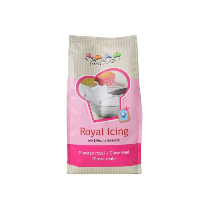 Preparado para Royal Icing 1 kg - Funcakes