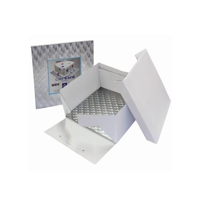 Caja y base cuadradas para tarta 35 x 35 x 15 - PME