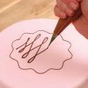 Mangas y boquillas desechables para decoración fineliner 21 cms - Funcakes