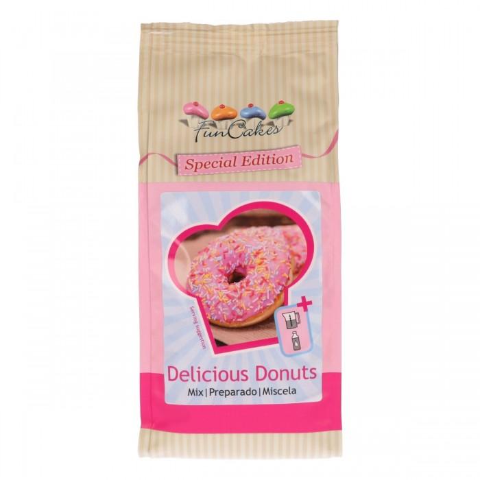 Mezcla para donuts Funcakes Edición Especial 500 g - Funcakes