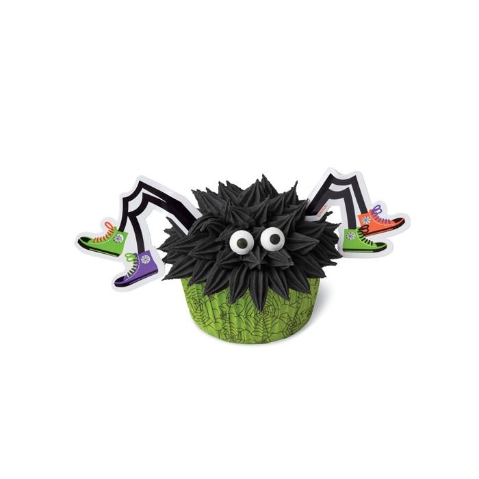 Kit de Decoración de Cupcakes - Araña, 24 piezas