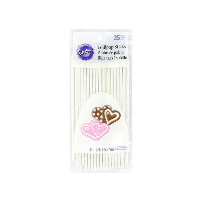 35 palitos Lollipops 15 cm - Wilton