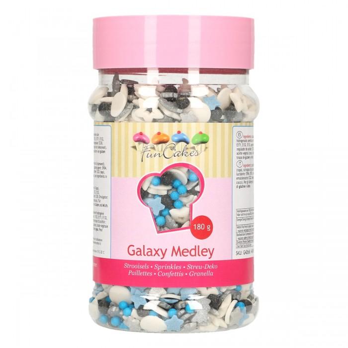 Sprinkles Medley Galaxy 180g - Funcakes