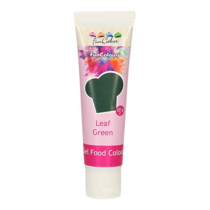 Colorante FunColours Gel Verde Hoja 30g - Funcakes