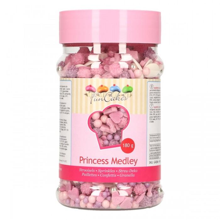 Mix sprinkles Princesas 180 grs. - Funcakes