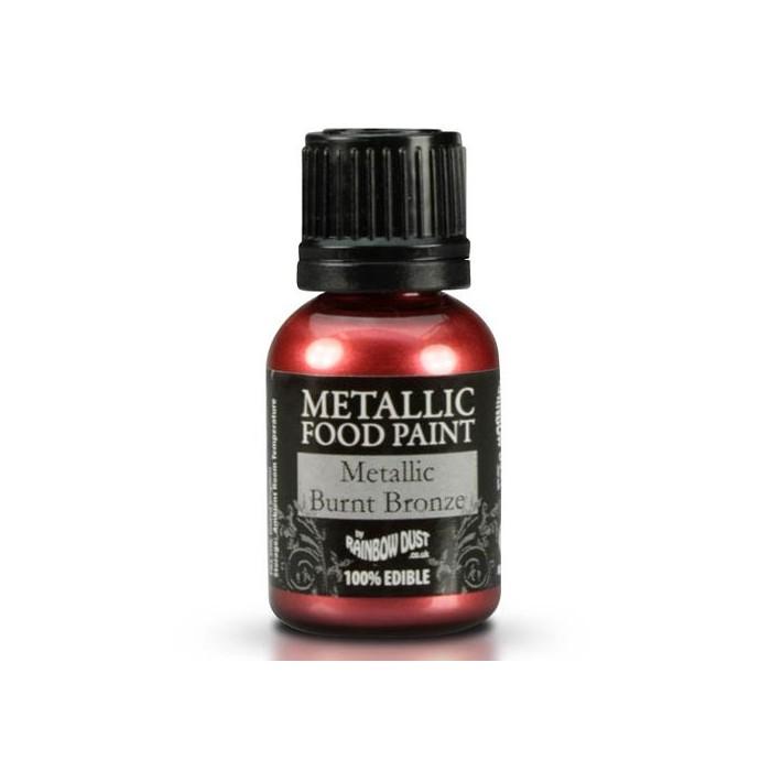 Pintura metalizada bronce oscuro - Rainbow Dust