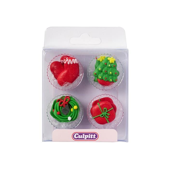 Figura navideñas de azúcar (12) - Culpitt