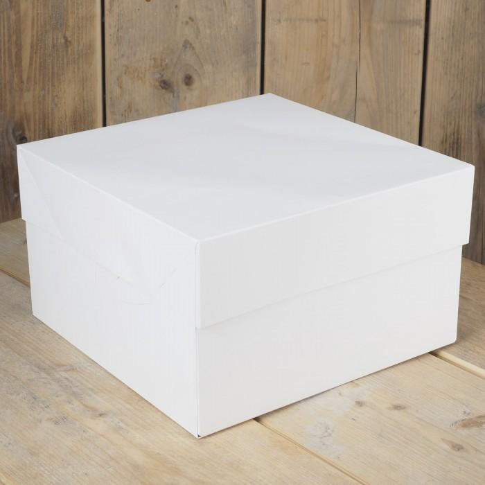 Caja para tarta 30x30x15 - Funcakes