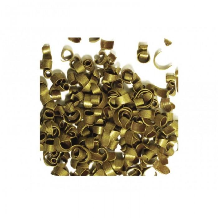 Mini virutas de chocolate doradas 25 g