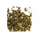 Mini virutas de chocolate doradas 30 g