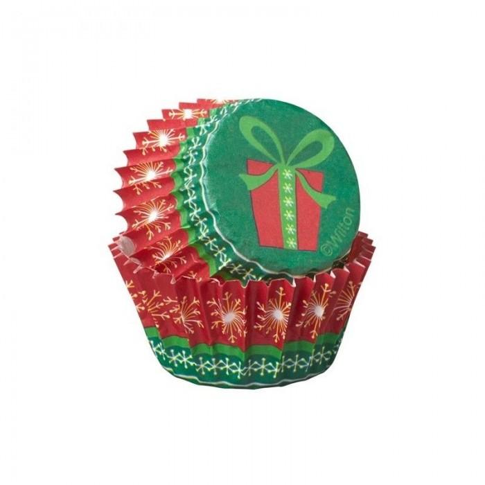 Minicápsulas navideñas (100u.) - Wilton