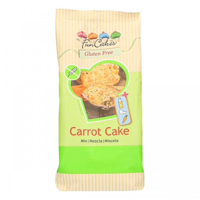 Preparado para Carrot Cake sin gluten 500 grs. - Funcakes