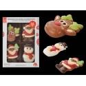 Pack Figuras Navidad Chocolate - Modecor