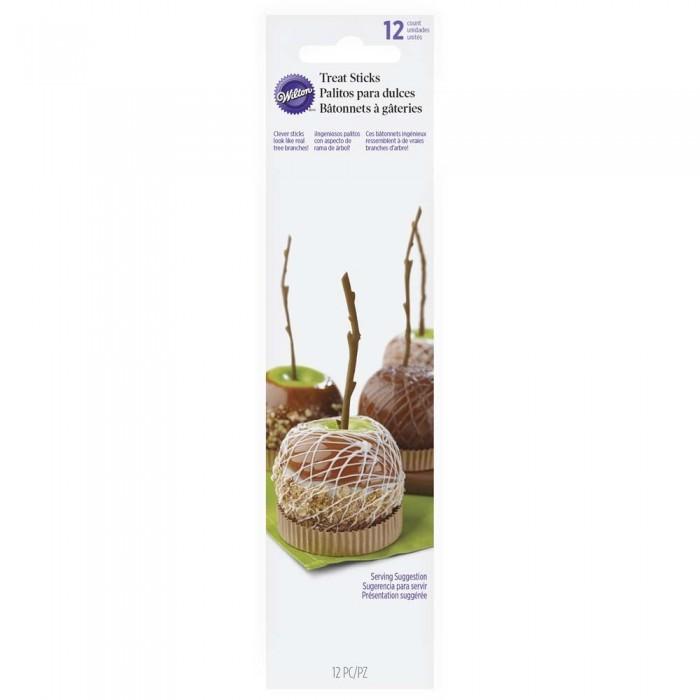 Palitos en forma de rama para manzanas de caramelo - Wilton