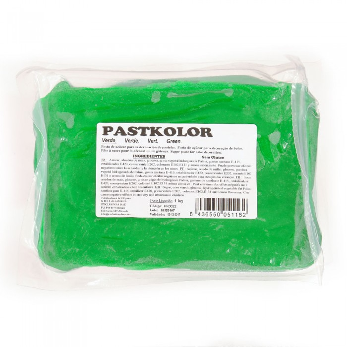 Fondant Verde PastKolor
