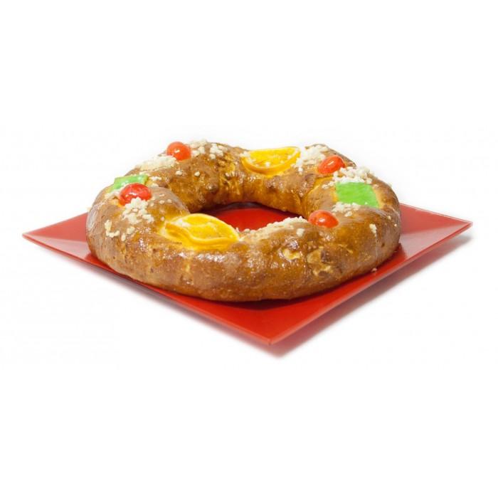 Roscón de reyes de mazapán grande sin gluten 550 grs. - Forn Ricardera