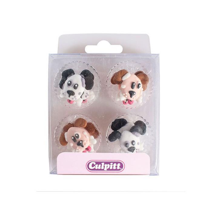 Set de 12 perros de azúcar - Culpitt