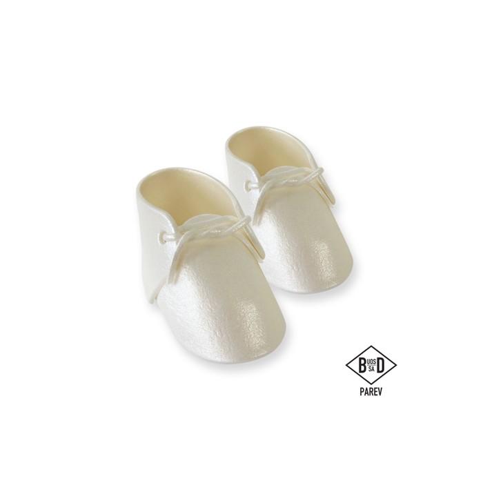 Patucos de bebé de azúcar perlados - PME