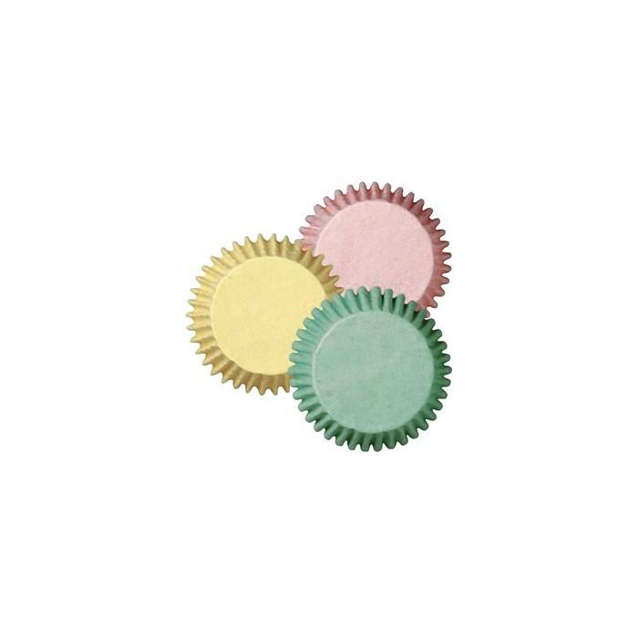 Mini cápsulas color pastel 100u. - Wilton