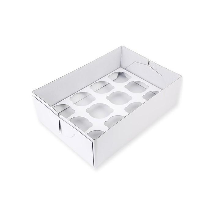 Caja transportadora 12 cupcakes PME