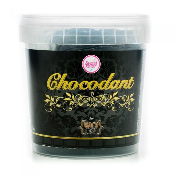 Chocolate Plástico Chocodant Negro 1 Kg