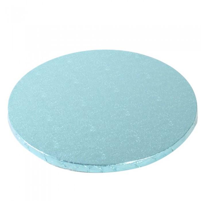 Cake Drum / Base redonda 30 cm 12 mm azul - Funcakes