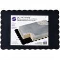Bandeja negra rectangular - Wilton