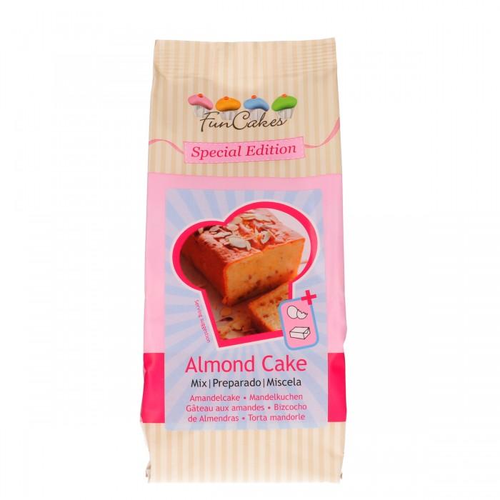 Preparado de bizcocho de Almendra 500g - Funcakes