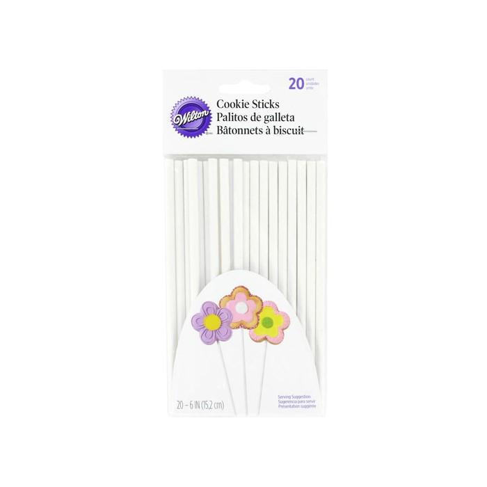 20 palitos Lollipops 15 cm - Wilton