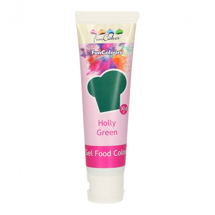 Colorante en gel Holly Green FunColours