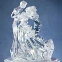 Figura Tarta de Boda Acrílico Transparente Wilton