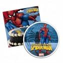 Disco comestible Spiderman 16 cm - Dekora